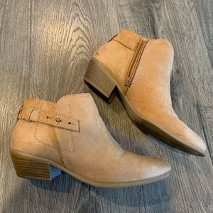 Old Navy Shoes - CHESNUT BOOTIES